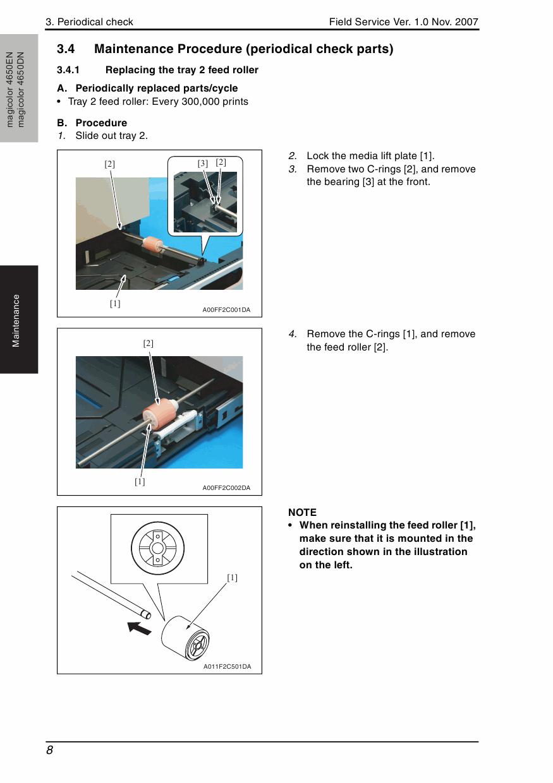 how to fix spooling on konica minolta